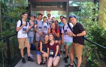 Lab visit - CSIRO Discovery Centre