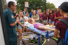 Lab visit - Ambulance