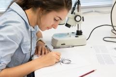 Lab visit - STEM plus nature art