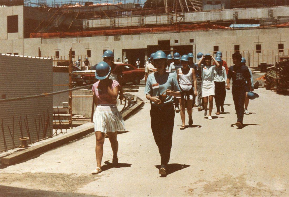 1984 Lab Visit