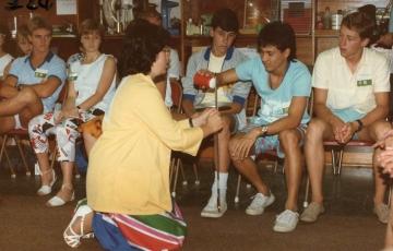 1986 Lab Visit