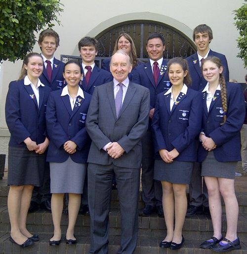 Embassy visit for NYSF students in South Africa - content image