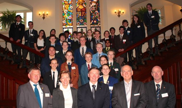 Receptions across the country for NYSF 2014 students - content image