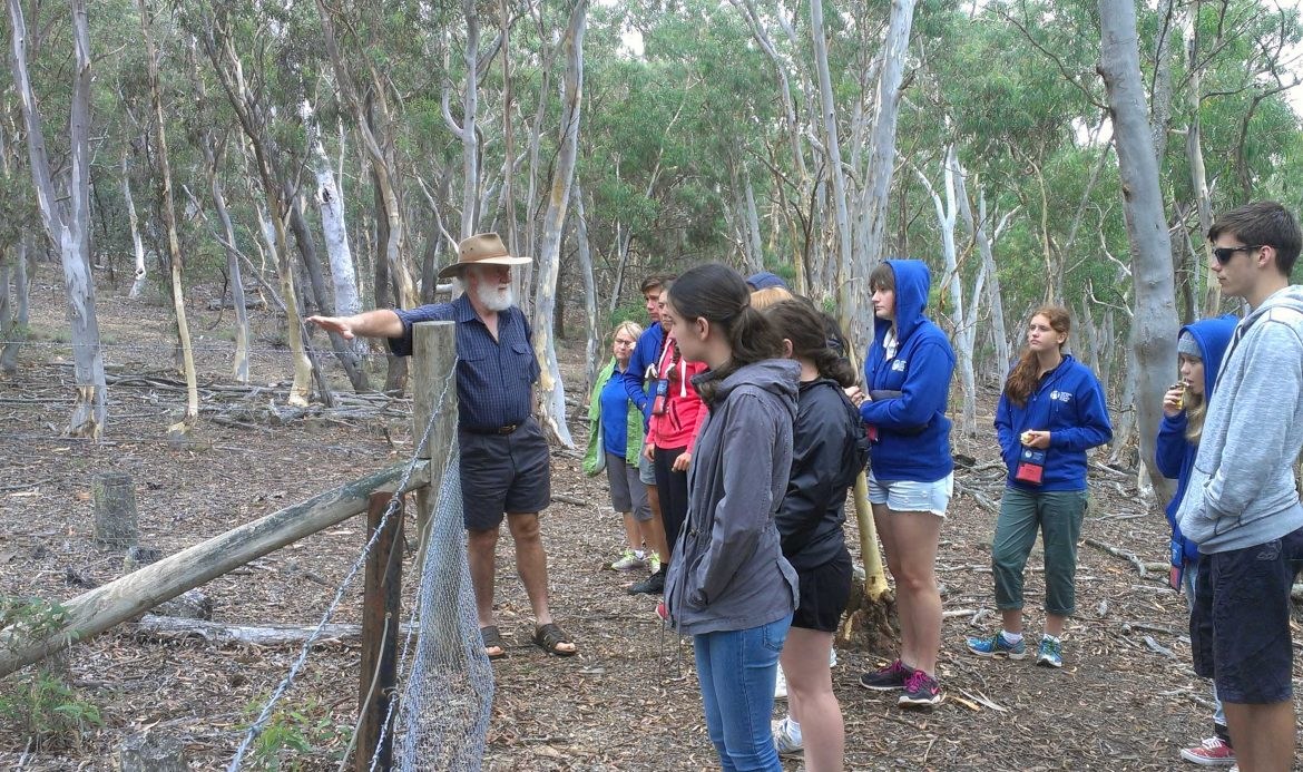 Mulloon Institute hosts students from NYSF 2015 - content image