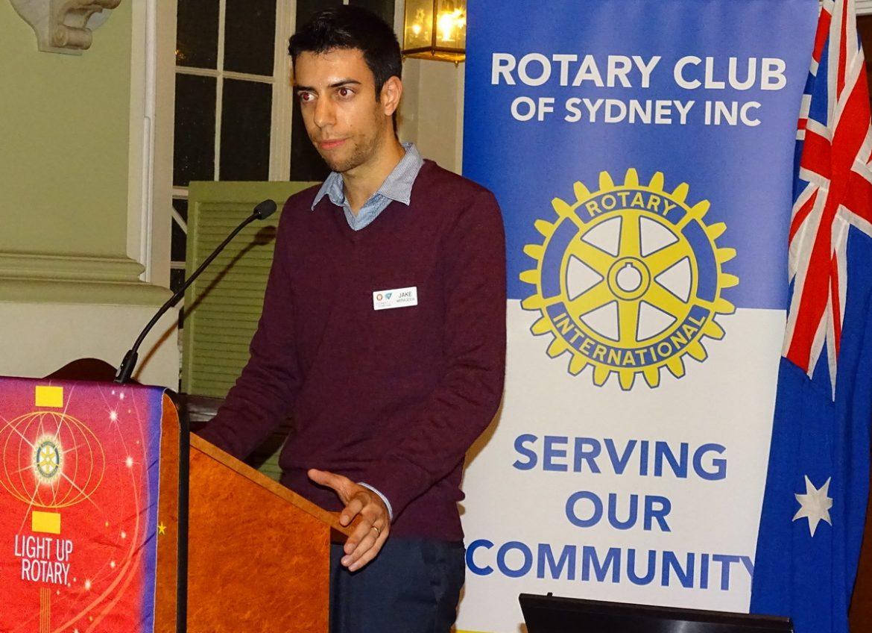 """""""Why I joined Rotaract"""" – Jake Weragoda, NYSF Alumnus, 2006 - content image"""