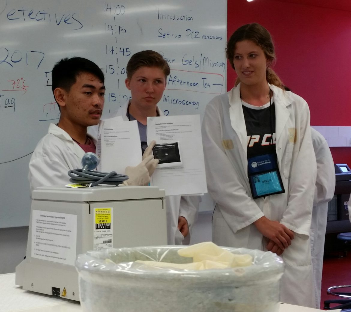 Van Dooren Lab at ANU offers NYSF a hands-on visit - content image
