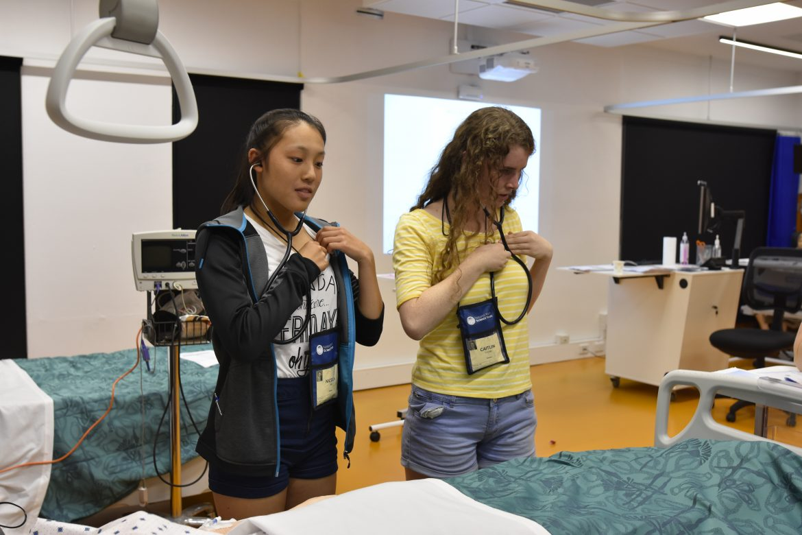 NYSF 2017 tries paramedicine! - content image