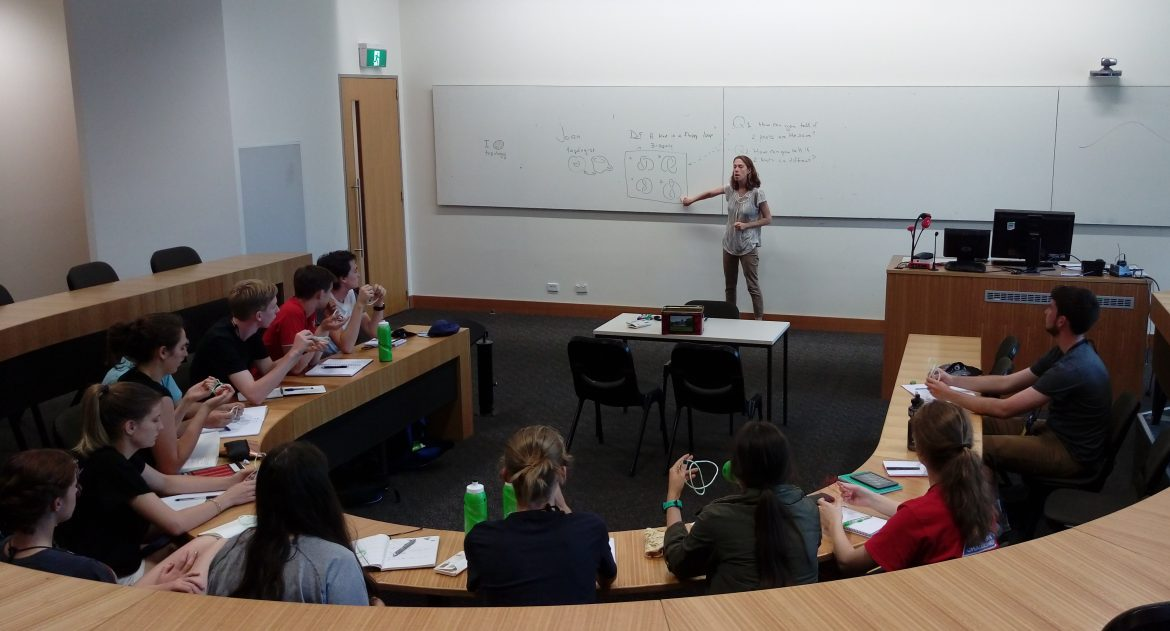 ANU Mathematical Sciences Institute: Gravity, String, and Infinity - content image