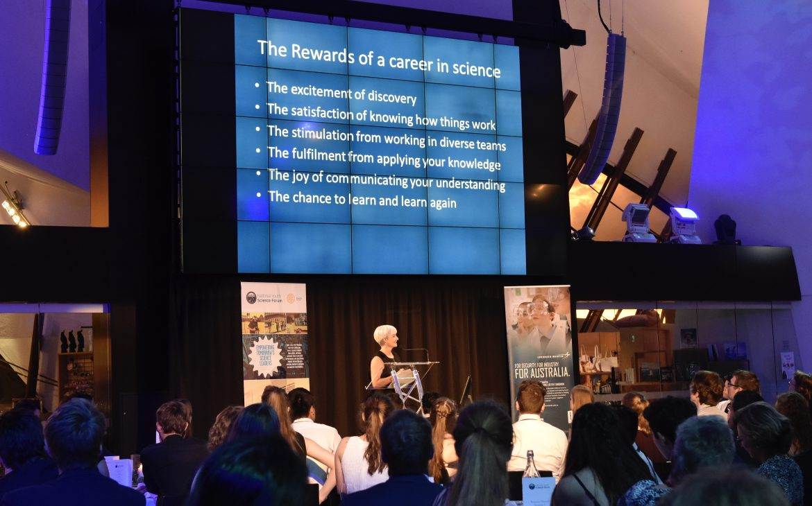 Tales of diving, dark times and discovery from Professor Emma Johnston, UNSW Sydney - content image