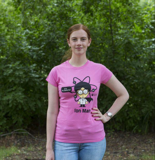 woman modelling tshirt