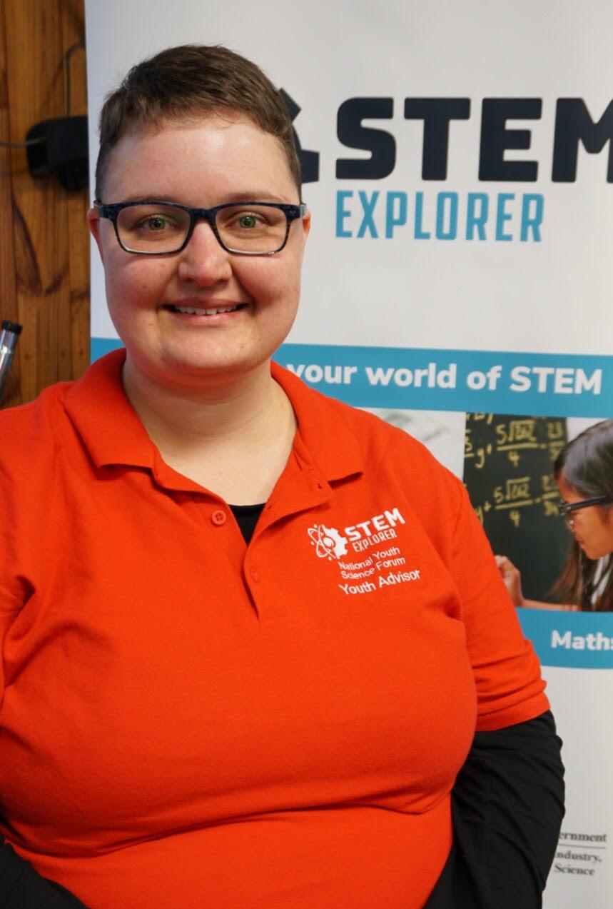 NYSF STEM Explorer Youth Advisor Teejay