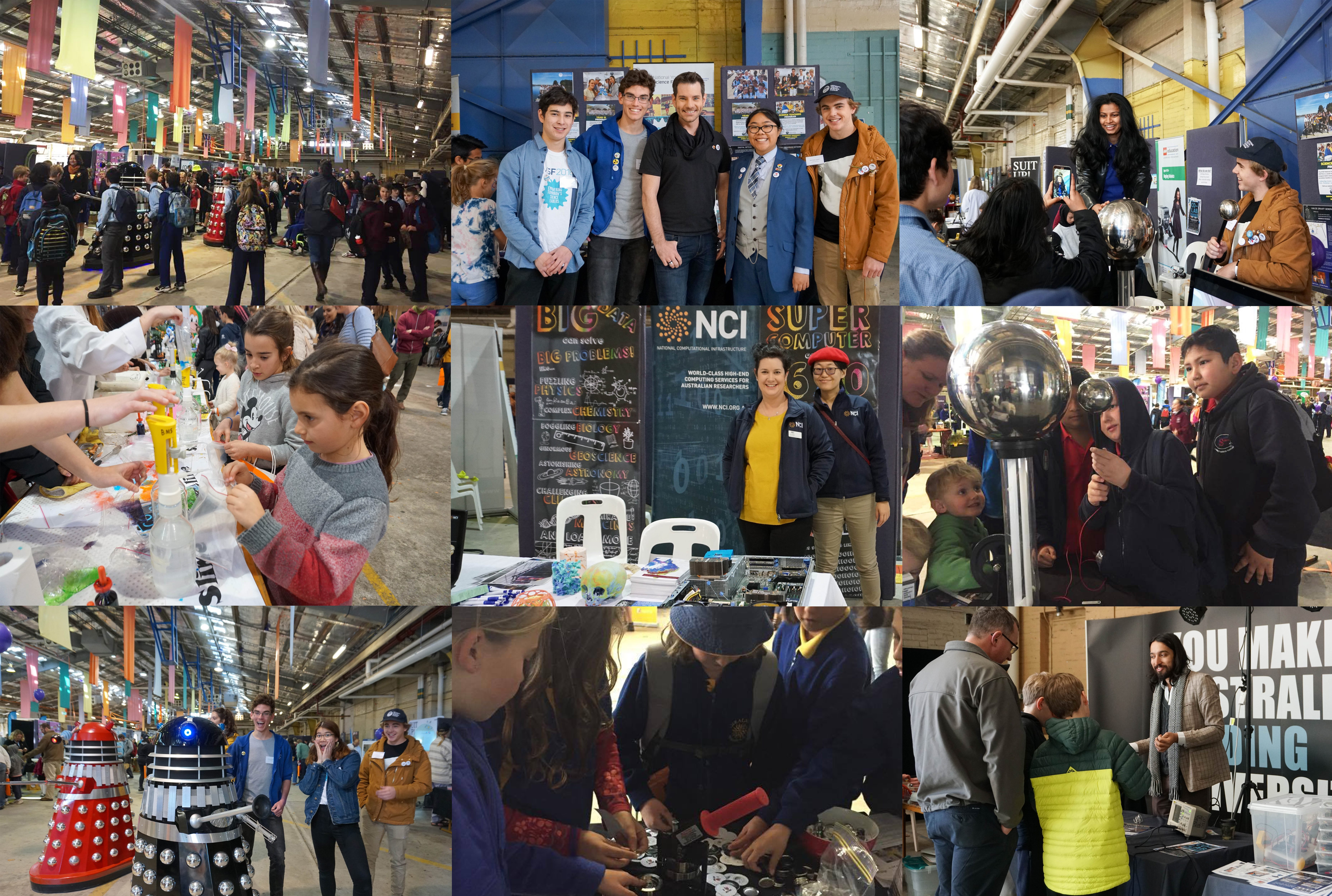 What NYSF did in National Science Week - content image