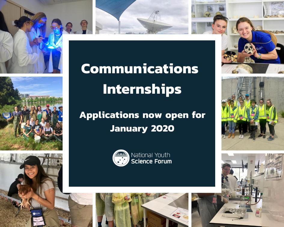 Communications Internships 2020 - content image