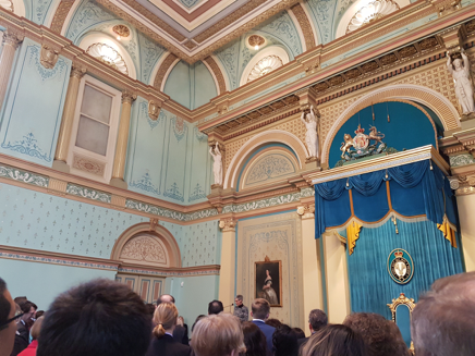 A full house of Governors' Receptions - content image