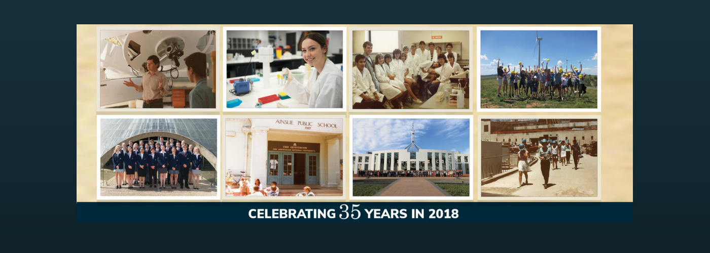 Celebrating 35 years of NYSF Alumni - feature image, used as a supportive image and isn't important to understand article