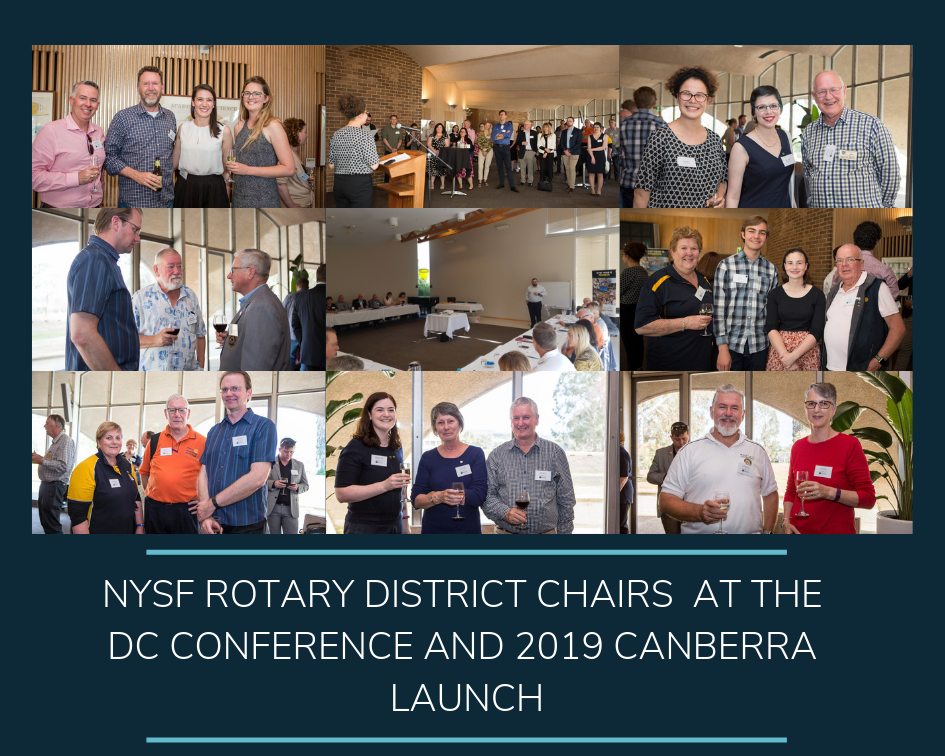 NYSF Rotary District Chairs talk selections - content image