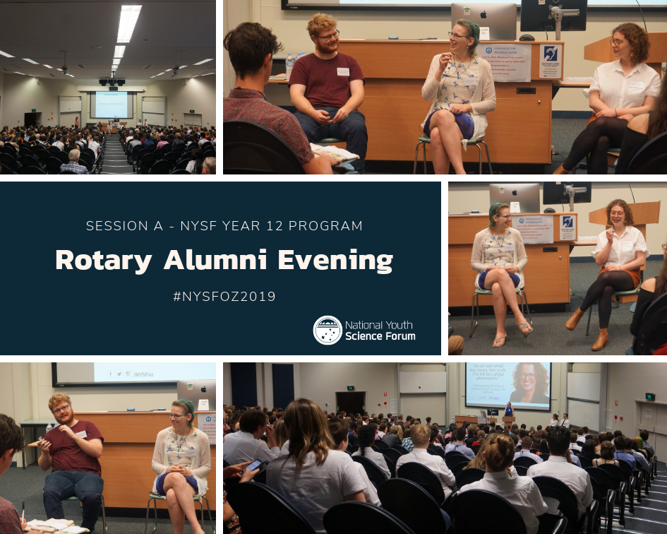 Rotary Alumni Evening – NYSF alumni share advice and experiences with NYSF Session A - content image
