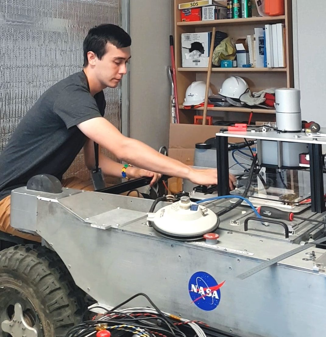 From NYSF to NASA – 2009 Alumnus Justin Kruger - content image