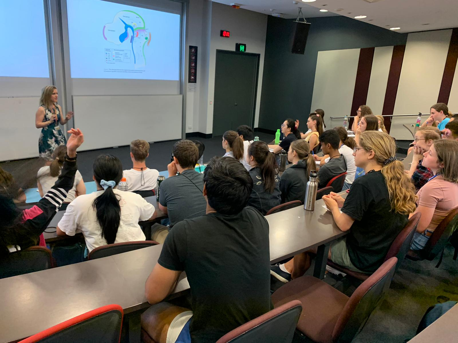 Quantum Physics and More to Finish of NYSF 2020 Session B - content image