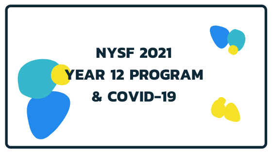 NYSF 2021 Year 12 Program & COVID-19 - feature image, used as a supportive image and isn't important to understand article