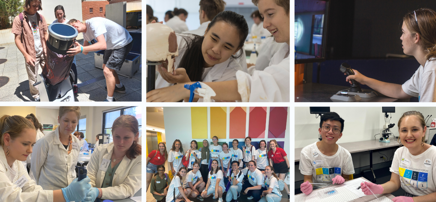 Astronomy, Forensics, Holograms and more at the Western Australia STEM Visits - feature image, used as a supportive image and isn't important to understand article