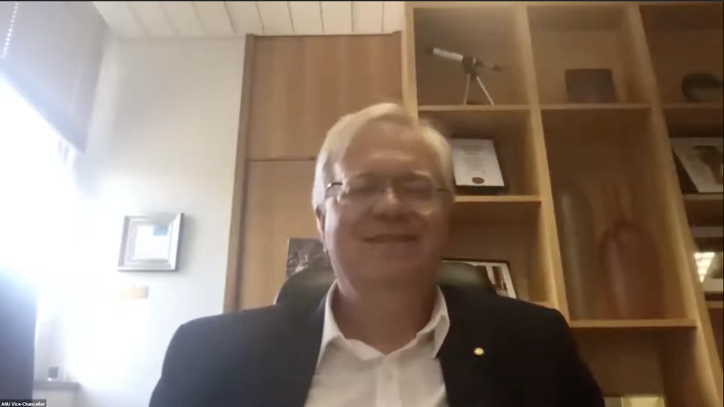 Wrapping up the 2021 NYSF Year 12 Program with Australia's Chief Scientist - content image