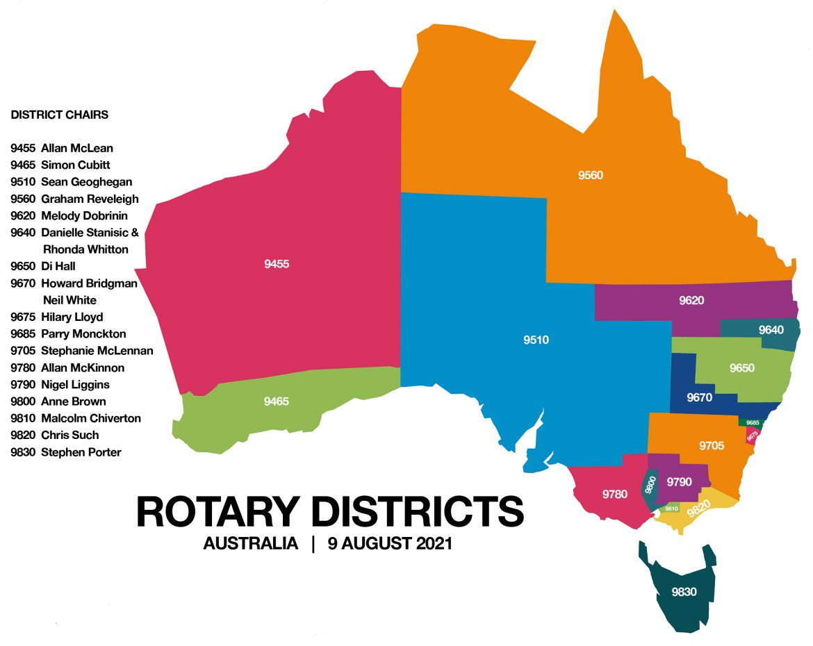Rotary Districts - content image